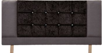 Neelam Crystal Grey Headboard